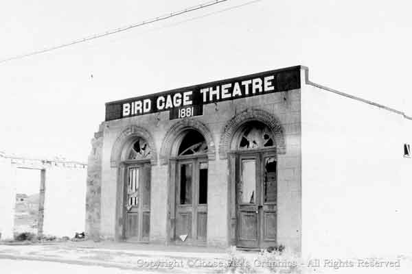 Hear the history of the infamous Bird Cage Theatre in historic Tombstone Arizona